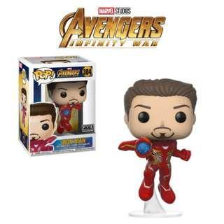 Funko Pop Marvel Avengers Infinity War Unmasked Iron Man Flying 304