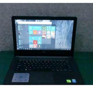 Dell Inspiron 14 3000 Series Core i5 NVDIA GeForce 820M Dedicate 2GB