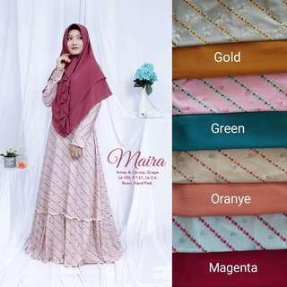 5 colors jubah and khimar