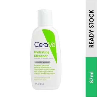 CeraVe Hydrating Cleanser For Dry to Normal Skin (87 ml)