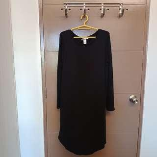 H&M Basic Long Sleeve Dress