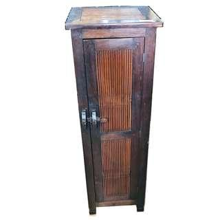 TALL BAMBOO SIDE CABINET