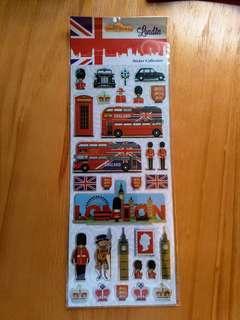 🇬🇧 Sticker 貼紙 - 主題: 倫敦 Lindon