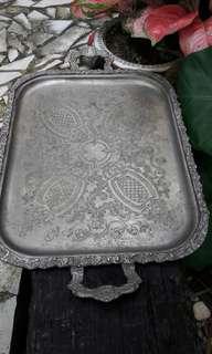 Tray tembaga antik