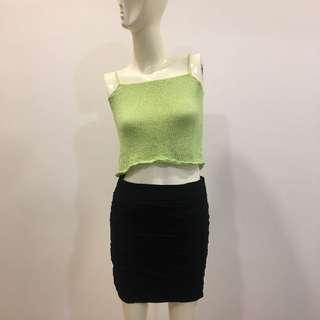 Green Knitted Top
