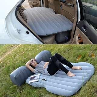 Car bed mattress inflatable