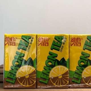 Vita Lemon Tea 維他檸檬茶 250ml x 6 Made in Hong Kong