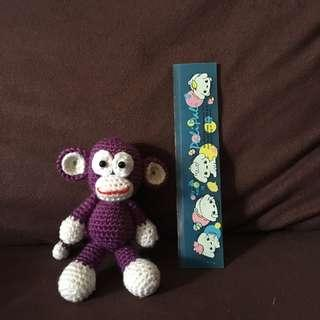 CookiesAmi-Monkey(Purple, exclude the banana)