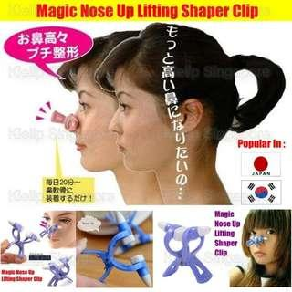 [Kiellp-女人我最大]Magic Nose Up Lifting Shaping Clip Clipper Shaper No Pain Beauty Tool Nose Up Lifting Shaping Clip/Nasal Massage Straightening Roller Shaping Front Side Nose High Nose