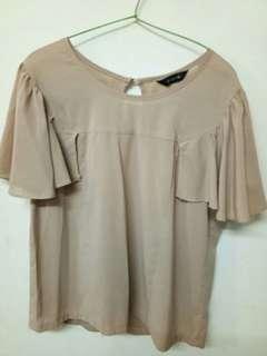 Baju atasan wanita brown