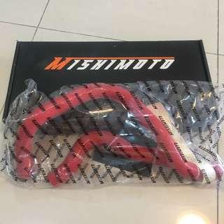 Mishimoto Honda Civic 92-00 B16 Silicone Hose Kit Red