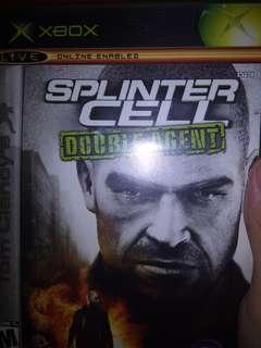 Xbox original Splinter cell double agent