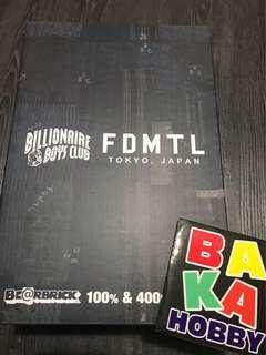 Bearbrick Billionaire Boys Club X FDMYL Bearbrick 400%
