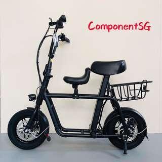 Fiido escooter black colour