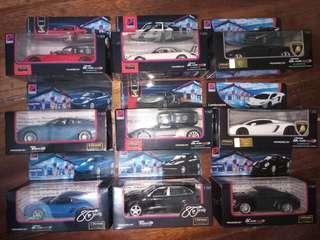 Assorted petron cars