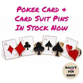 [AVAIL @ PS & Cine] Poker Card Deck and Suits
