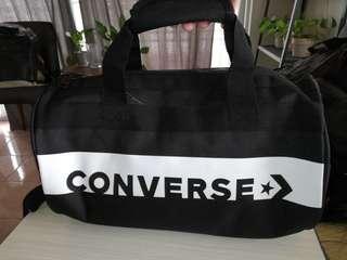 Converse All Star Hand Carry Duffle Bag (Black) 🛒 FLEX $AVER 1+1! 🎁 FREEBIES ⛑️ RESERVED 48 HRS