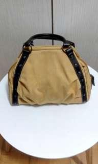 Women leather handbag (小手挽袋)