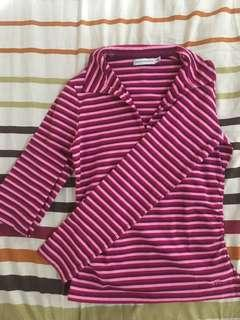 Tommy Hilfiger striped polo long sleeves