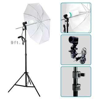 """33"""" Photography Studio Reflector Translucent White Diffuser Umbrella"""