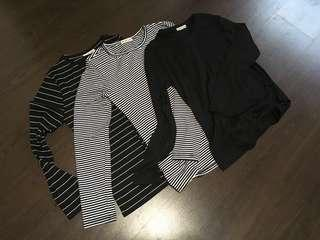 LONG SLEEVE TEE / BODY FIT TEE