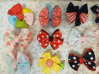 Baby toddler cute bow hairpin