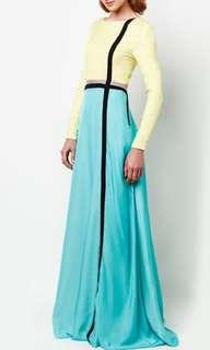Syomir Izwa for Zalora Color Block Dress