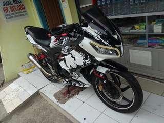 Honda cb 150 r 2013 full modif