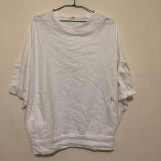 🚚 正韓製 shin 厚針織棉寬袖上衣