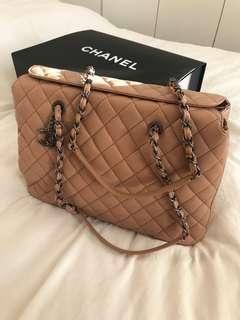 Chanel Bag 深肉色上膊菱格大袋