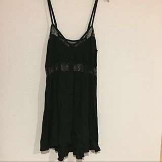 Shakuhachi Black lace dress