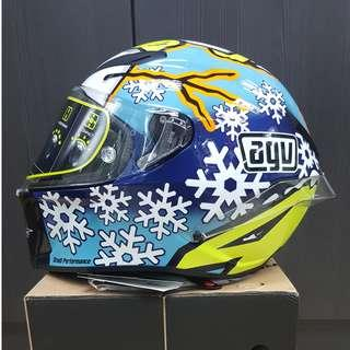 AGV PISTA GP SNOWMAN