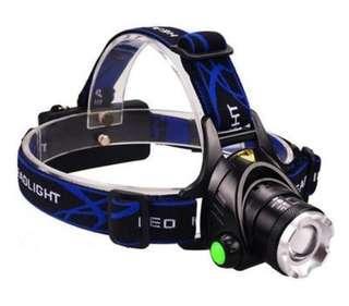 High Power Headlamp T6 3800 Lumens 3 Mode LED Headlight rechargeable