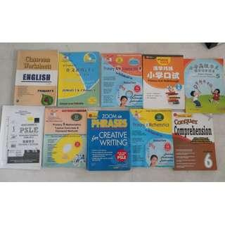 9 Primary 5 6 assessment books Higher Chinese Maths Science Oral Creative Writing