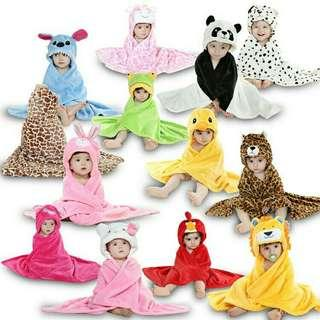 Chara ter hooded baby towel