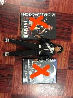 Toy and dvd michael jackson
