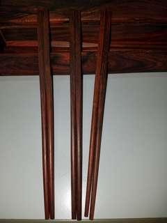 印度小葉紫檀木筷子