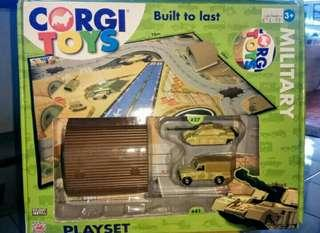 Corgi Landrover Military Playset Toys
