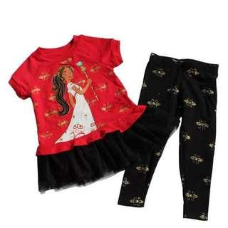 🚚 100% authentic Elena Avalon legging set (TOP+Legging) 2yrs old to 7yrs old
