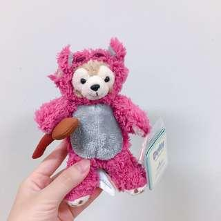 香港迪士尼熊抱哥達菲吊飾