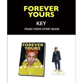 [PO] SHINEE KEY - FOREVER YOURS MUSIC VIDEO STORY BOOK