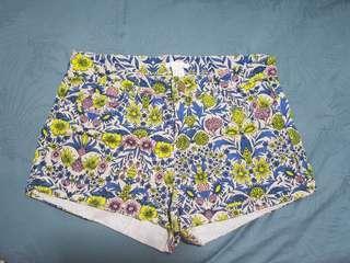BNWOT H&M Printed Floral Shorts