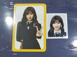 TWICE ONCE Fanclub Photocard + ID photo Sana