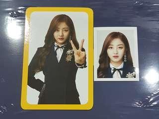 TWICE ONCE Fanclub Photocard + ID photo Jihyo