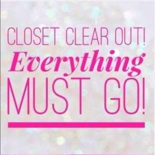 🤩EVERYTHING MUST GO😍 NOTHING OVER $10🤗