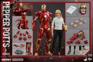 Iron Man Mark IX with Pepper Pots