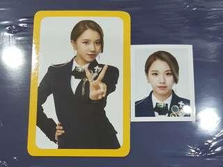 TWICE ONCE Fanclub Photocard + ID photo Chaeyoung