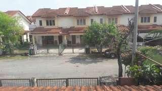 2 storey house at Desa Puteri for rent.