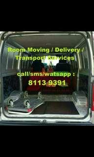 Prompt & Reliable Delivery/Room Moving Transport Service