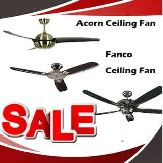 11.11 PROMOTION FOR ACORN FAN@FANCO FAN